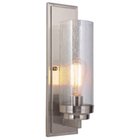 Florence 1 Light 5 inch Nickel Sconce Wall Light